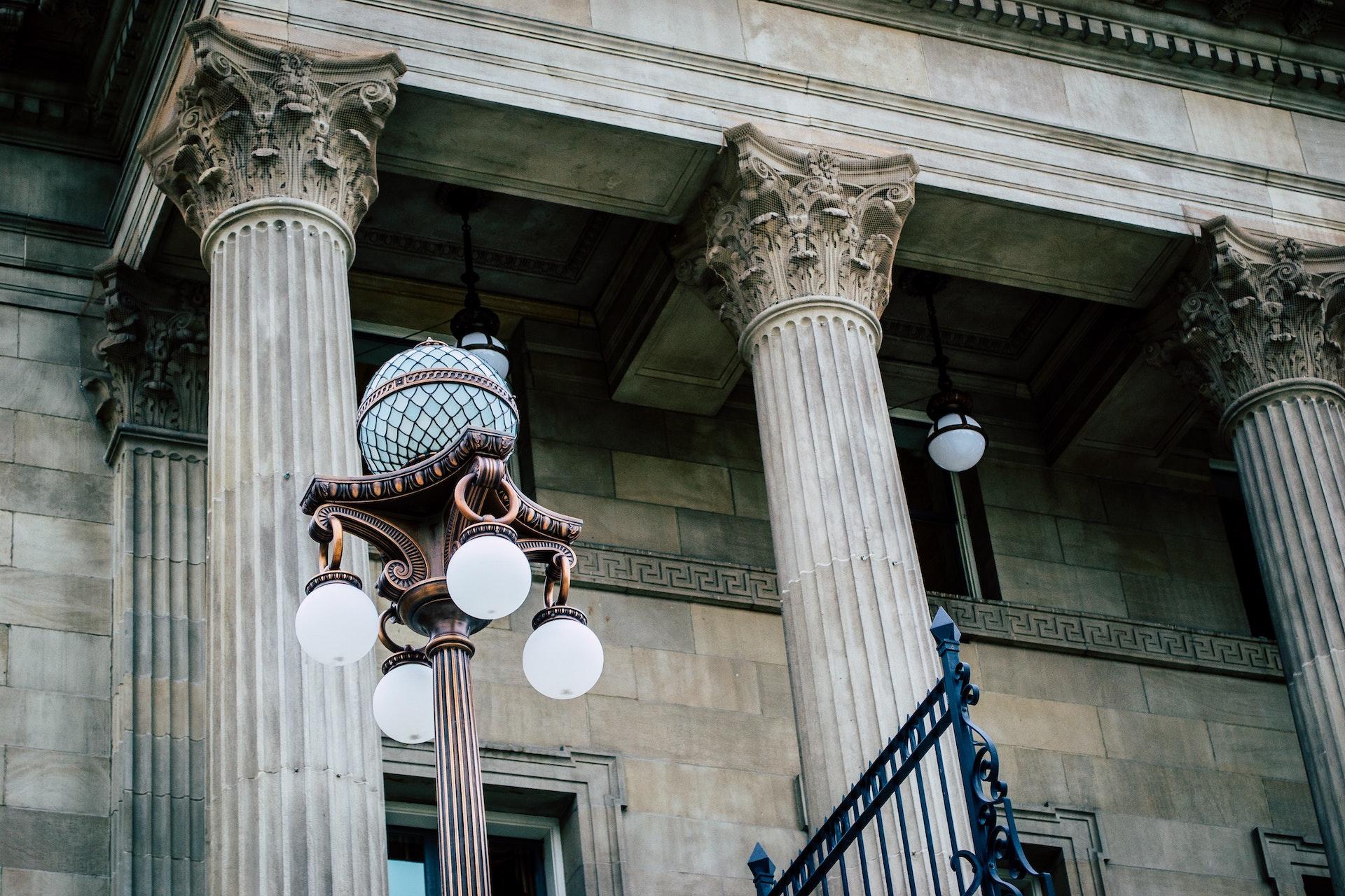 Strafrecht Gerichtsgebäude